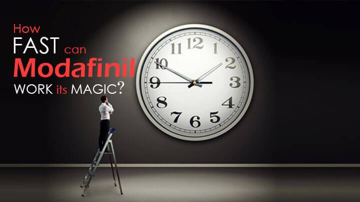 Modafinil – how fast work its magic?