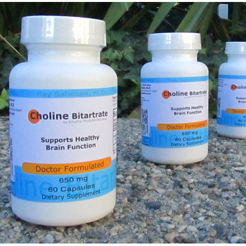 Choline bitartrate – causes lucid dreaming